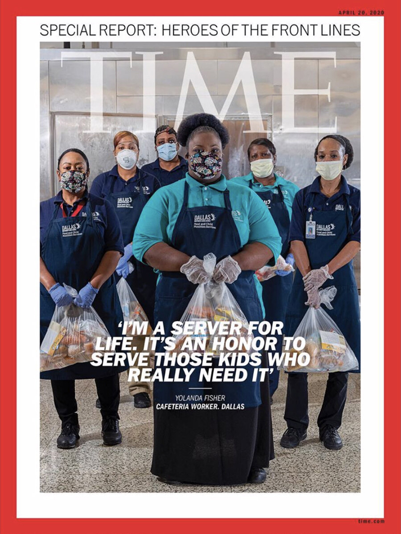 TIME Magazine Heroes of the Front Line