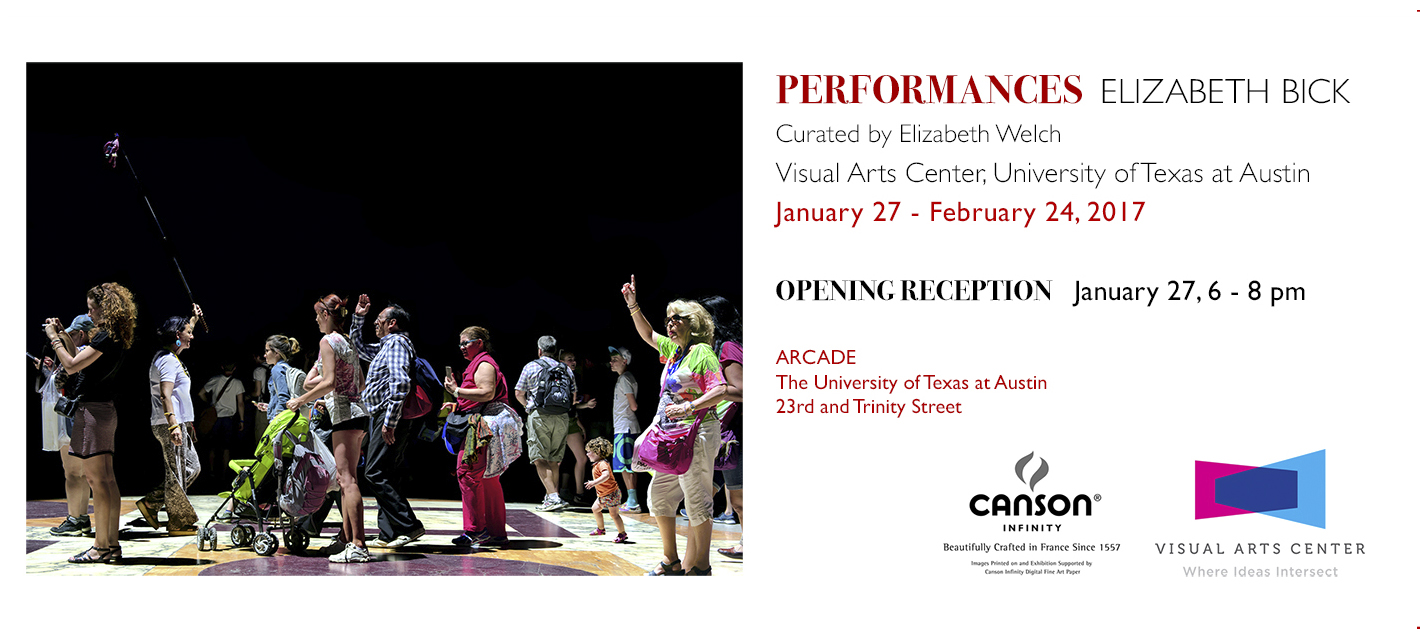 Elizabeth Bick Perfomances Exhibition