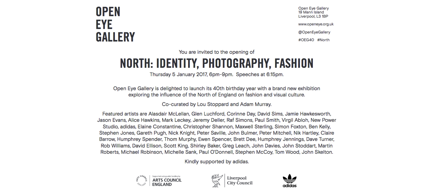 Nik Hartley is part of North: Identity, Photography, Fashion exhibition