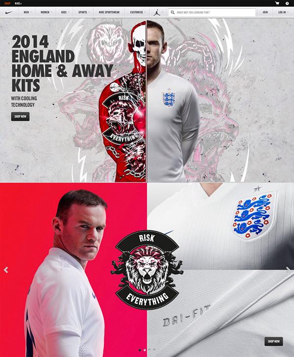Nike Football England Kit