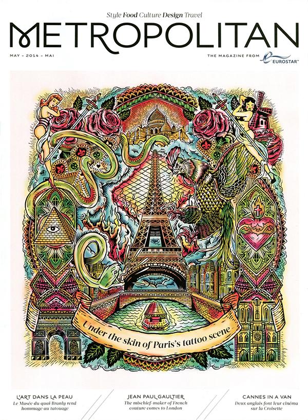 Eurostar Metropolitan Cover