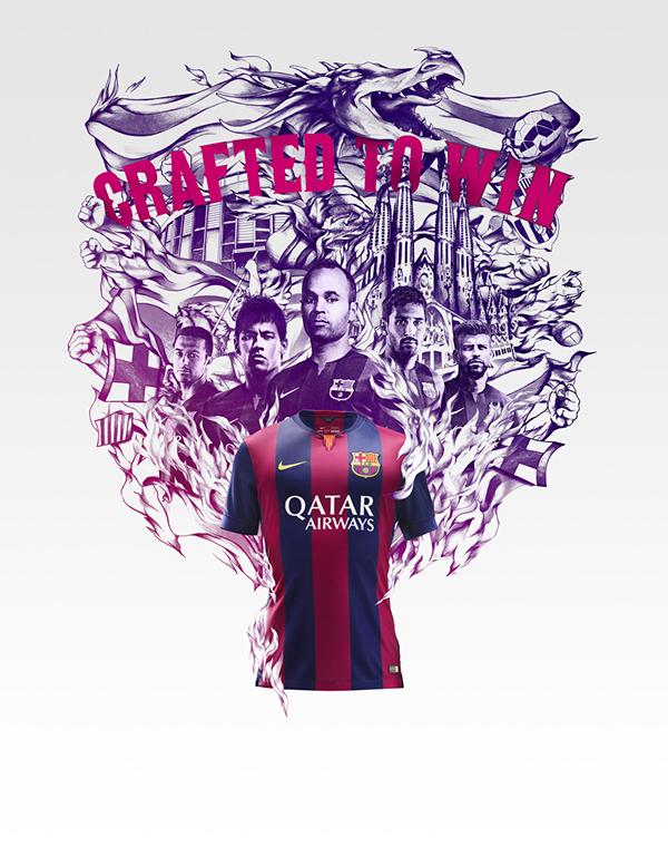 Nike Club Kit Illustrations