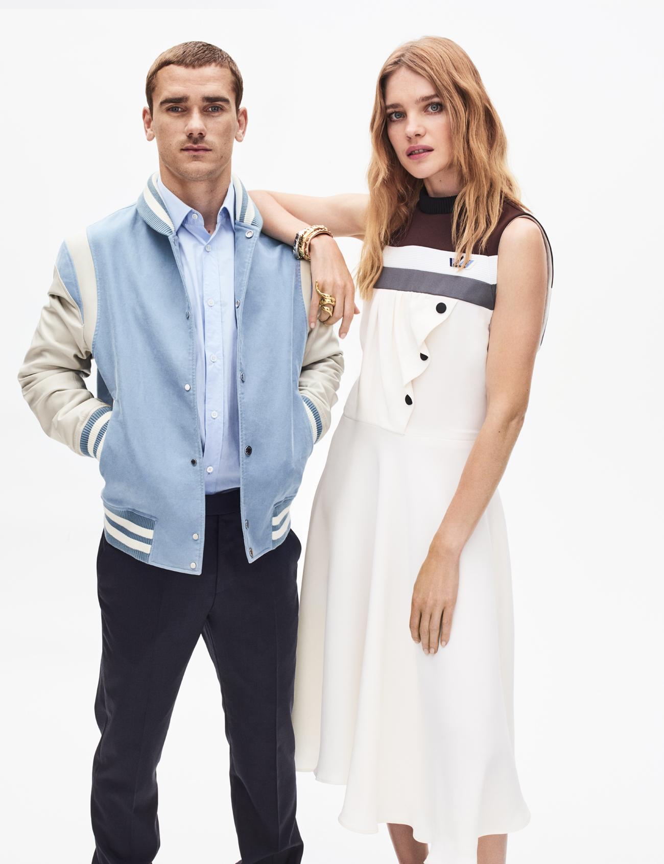 Antoine Griezmann & Natalia Vodianova